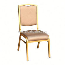 hot sale stackable chairs factory price aluminium/steel chair modern banquet chair