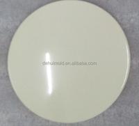 ABS CNC Machining/cnc turning mass production ,finishing white