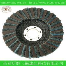 non-woven and alumina combined flap DISC WHEEL