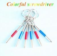 mini screwdriver ,eyeglasses screwdriver .glasses screwdriver set colorful three use screwdriver good quality