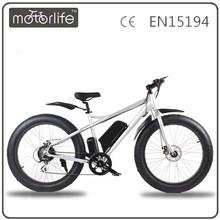 Motorlife / OEM marca venda quente 36 v 500 w roda de bicicleta elétrica aro 26
