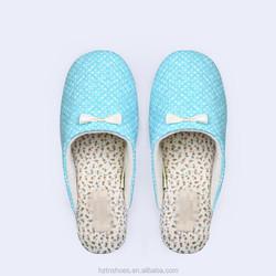 new design slippers home slippers for women litter bowtie silent slippers