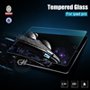 2015 high clear new arrival 0.33mm 2.5d 9h 12.9'' 99% transparent rate tempered glass screen protector for ipad