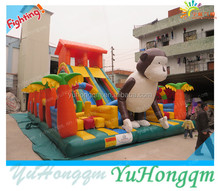 Yuhong!! new inflatable fun city ,monkey amusement park games for kids outdoor playground
