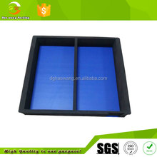 dark blue eva foam package tray for cosmetic set