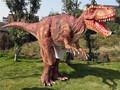 Adultos esay control relistic tamaño natural de dinosaurios traje