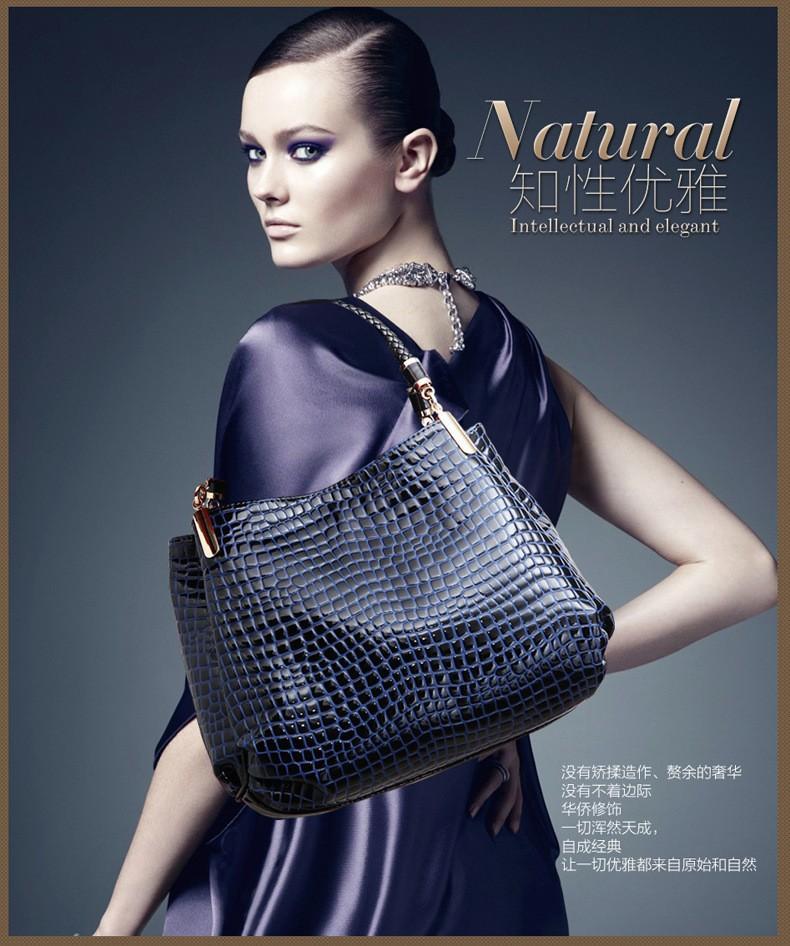 New 2014 Fashion Desigual Brand Leather Women Handbag Shoulder Bags