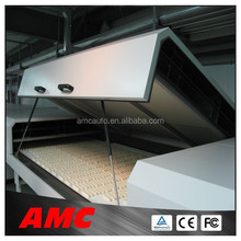 Stainless Steel Cooling Tunnel System with PU conveyor belt for biscuit/chocolate/candy