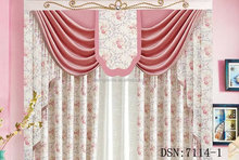 Polyester textile printing curtain Blackout fabric/fabric curtain/window covering ideas