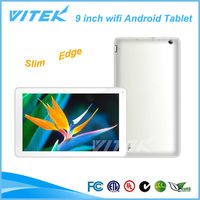 9 inch China Low Cost Dual Camera Wifi Tablet Android Slim