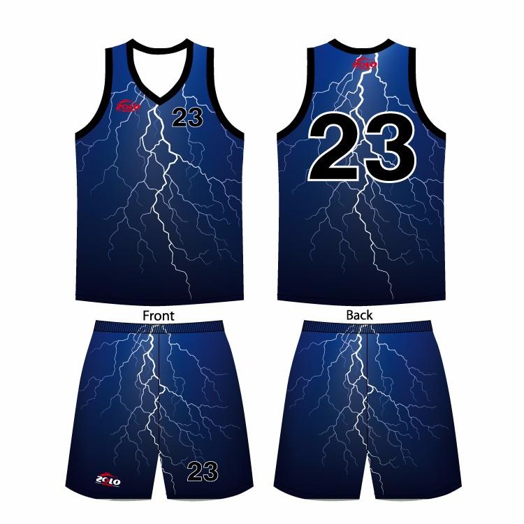 basketball jersey uniform design color blue