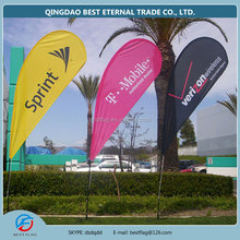 fiberglass teardrop advertising outdoor banner cheap teardrop banner