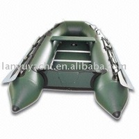 inflatable aluminum floor fishing boat