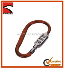 Fashion custom aluminum carabiner