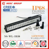 2015 New Style NSSC True CREE 3w/5w 120w 20 inch led light bar for truck, ATV,UTV, 4x4 led light bar