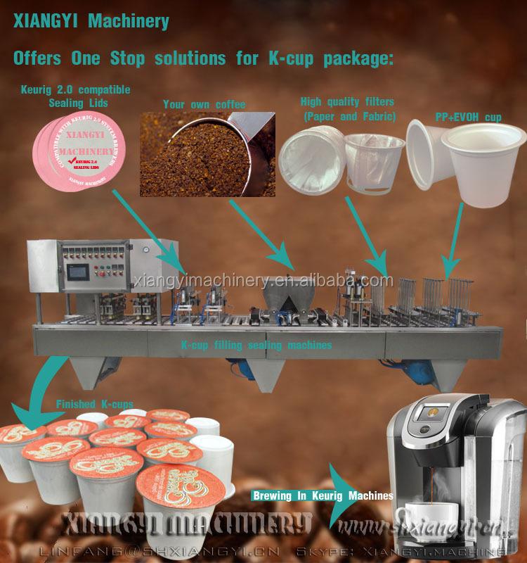 Nespresso Capsule Packaging Machine Coffee Capsule Making