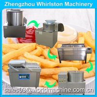 fish and chips equipment/electric fried chips machine/home potato chips machine