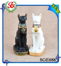 SGE088 Unique Black Cat Polyresin Figurine ,Resin Figurine,Figurine
