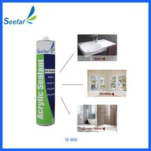 good adhesion to excellent package acrylic sealant for hongkong market