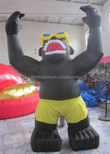 Advertising Inflatable Gorilla Model for Sale /giant inflatable gorilla