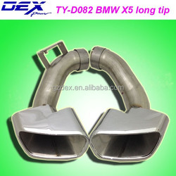 Tianyu DEX dedicated tuning racing muffler tip for bmw x5