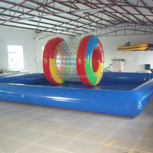 Competitive price with high quality floating inflatable boat swimming pool