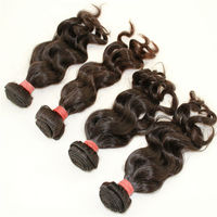 Homeage wholesale price double weft cheap wholesale original brazilian hair supplier