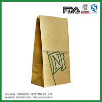 mcdonald's paper food packaging/paper bag for fast food, hot food