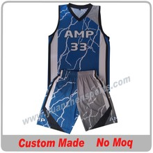 custom uniforms basketball with team logo and number sublimation printing no moq