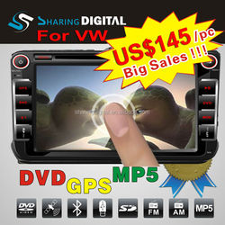 Promotional car DVD support BT phonebook with can bus for SKODA Fabia car radio