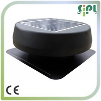 factory supply! 12 inch Solar powered electric fan
