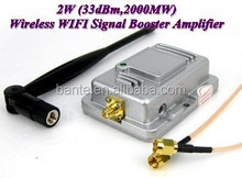 2W 150Mbps WiFi Wireless LAN Signal Booster Amplifier