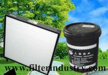 HEPA filter adhesive