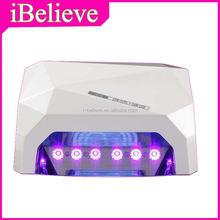 led ccfl curing nail lampa professional 48w led nail lamp replacement bulb uv gel nail polish