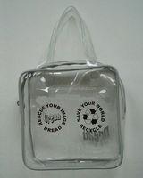 high design handbags/ foods high design handbags/ pvc zipper packaging bag