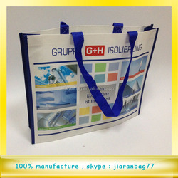 Fashional 120gsm full color printed laminated non woven shopping bag