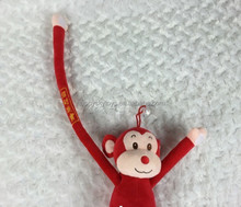 HI CE hot toys!!! Delicate New Product Custom Plush Toys Monkey,High Quality Custom Plush Toys Monkey