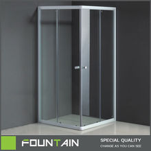 New Design Free Standing Glass Shower Enclosure