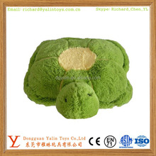 High quality animal shaped plush stuffed tortoise floor cushion 2015 comfortable design