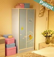Italian furniture living room plastic kitchen cabinet sliding door Wardrobe dressing table designs suitable for kids