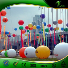 Various Color Self Inflating Helium Ballon For Openning Celebration