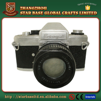 Antique resin single-lens reflex camera home decor