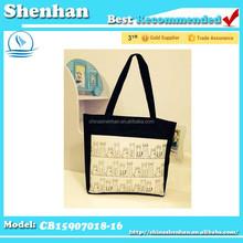 cheap canvas duffle bags/ fashion cotton canvas bag