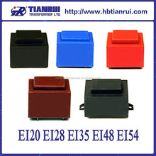 TRPE series 220v 230V 110v isolation transformer price encapsulated pcb transformer EI 28 transformer