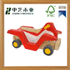 Cheap FSC colorized mini DIY educational wooden motorcycle toys for children