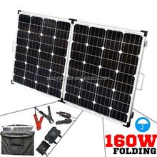 160W folded solar panel kit