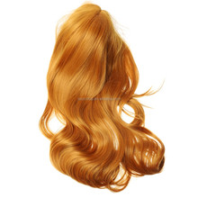 New Cosplay Long Wavy Curly Brown wig Fashion Long Women's Full Wig