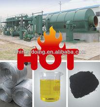 Haute huile yied! Spécial catalyseur déchets de recyclage de pneus à usine d'huile