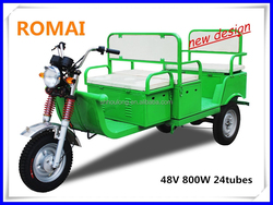 ROMAI tricycle for elderly / tuk tuk for sale with good quality headlight