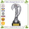 2015 chinese factory custom made handmade carved hot new product polyresin golf trophy